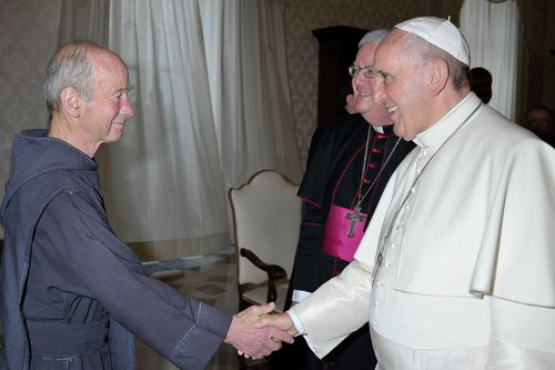Me and Pope Francis